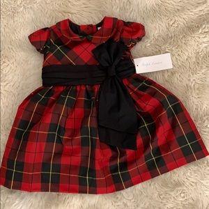 Ralph Lauren red plaid dress